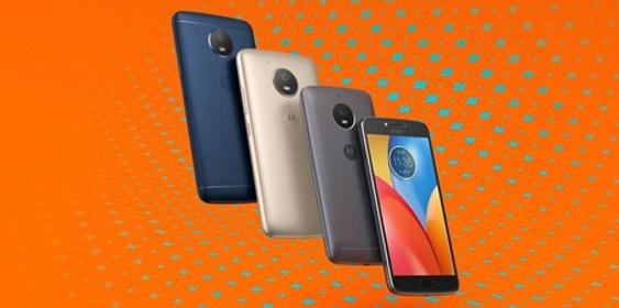 Smartfony Moto E4