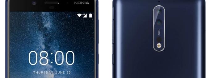 Nokia 8 официальная премьера 16 августа