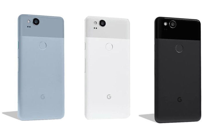 Pixel 2 accordint to HTC project