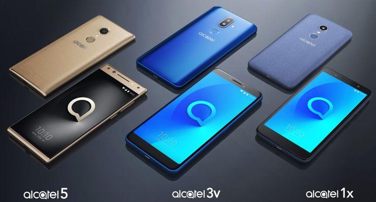 New series of Alcatel smartphones