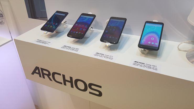 Präsentation der Smartphones von Archos