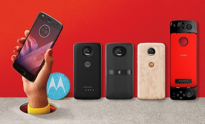 It's Moto Z2 Play, we're waiting for its successor...