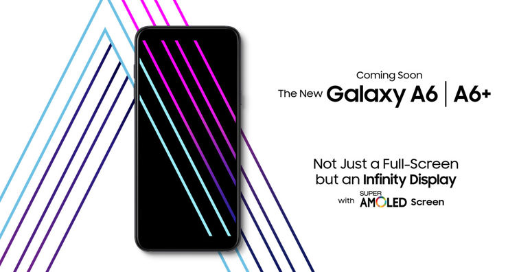 Samsung Galaxy A6 and A6+ already on the manufacturer's website