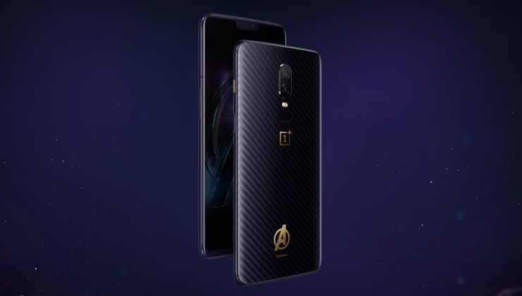 OnePlus 6 Avengers: Infinity War Edition - also officially