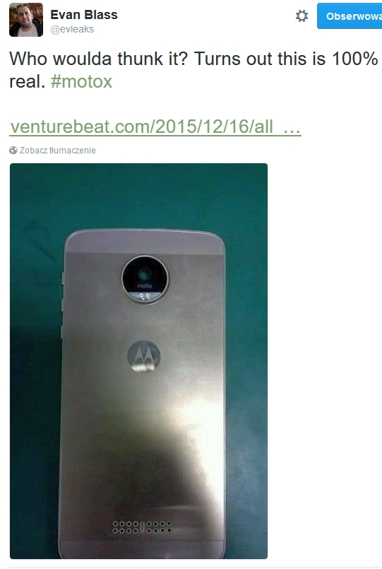 Will Moto X 2016 surprise with styling? :: GSMchoice.com