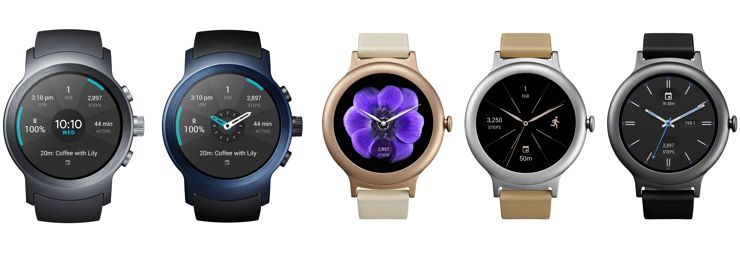 LG Watch Style et Watch Sport