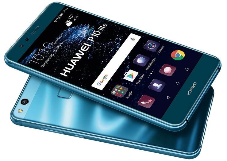 Huawei P10 Lite in blue