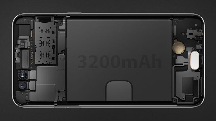 Oppo F3 - battery