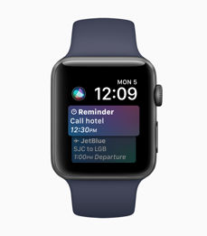 Novelties in watchOS 4