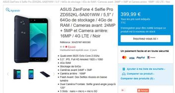 Asus ZenFone 4 Selfie i Selfie Pro w sklepie Asusa