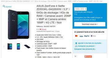 Asus ZenFone 4 Selfie и Selfie Pro в магазине Asusa