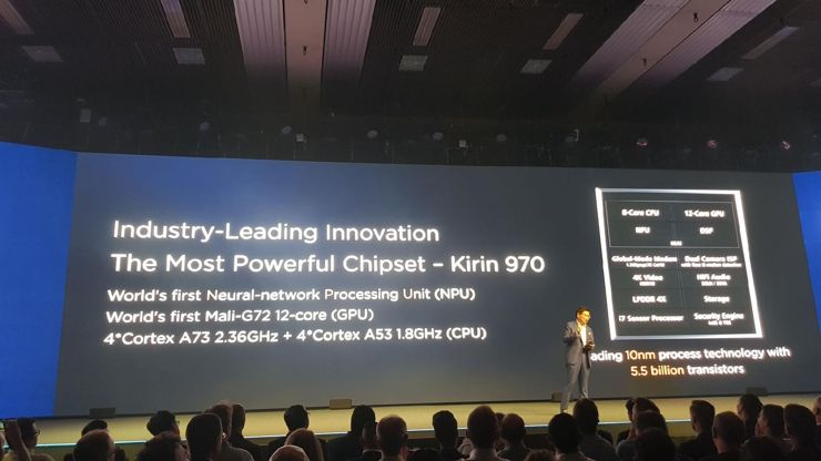Kirin 970 - the first processor with NPU