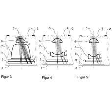 Схема патента оборачивающегося фотоаппарат Carl Zeiss