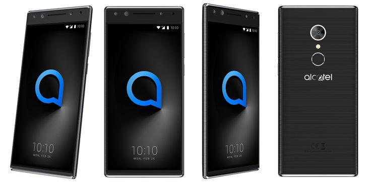 Alcatel 5 in black