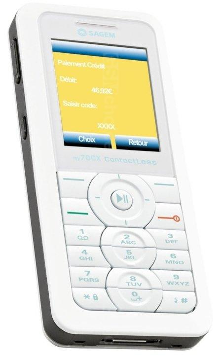 Обзор мобильного телефона sagem my700x