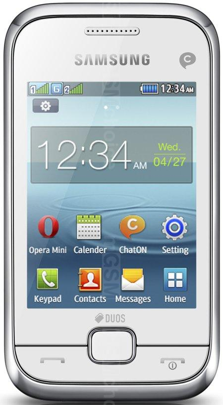 Samsung Rex 60 C3312R - Full phone specifications
