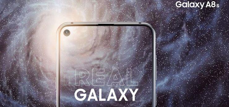 Премьерный Samsung Galaxy A8s