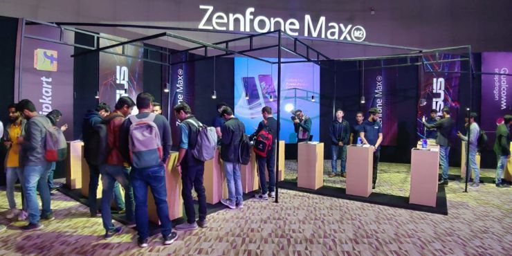 Asus Zenfone Max M2 and Zenfone Max Pro M2 - the second, more official launch
