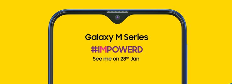 The Samsung Galaxy M series will debut first in India
