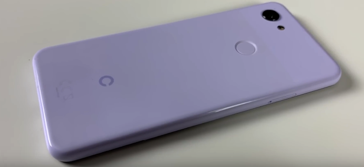 Google Pixel 3 Lite on video