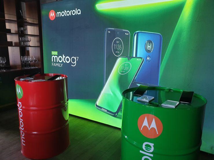 Motorola präsentiert das Moto G7 in vier Versionen