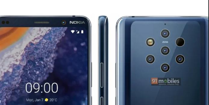 Nokia 9 PureView after FCC certification