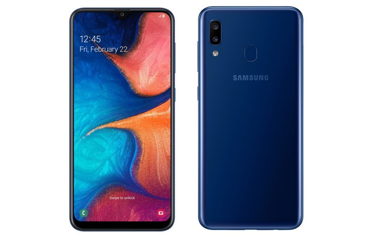 Samsung Galaxy A20 debuts in Russia