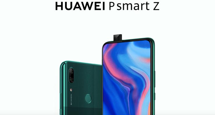 Huawei P Smart Z offiziell dargestellt