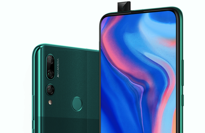 Huawei Y9 Prime 2019 offiziell. Das ist eine neue Version des P Smart Z