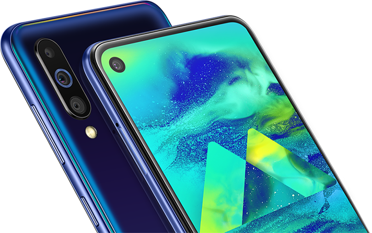 Samsung Galaxy M40 officially