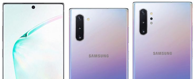 Samsung Galaxy Note10 and Note10+
