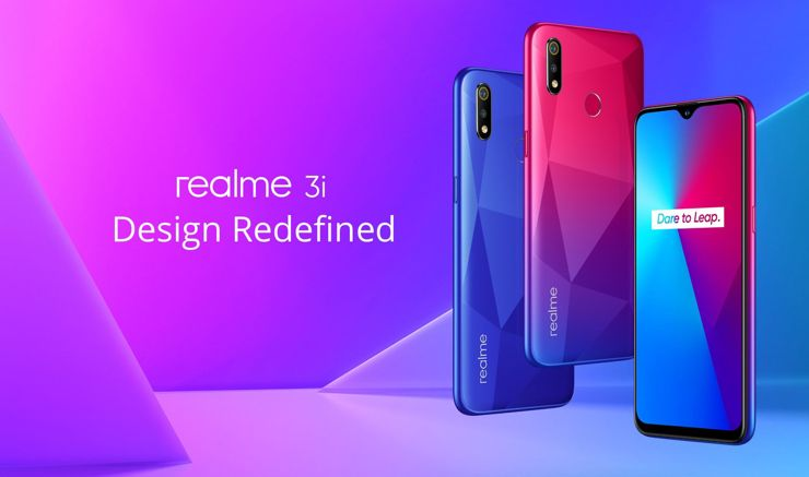 Realme 3i made its debut in India