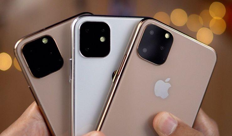 Dummies of iPhone 11