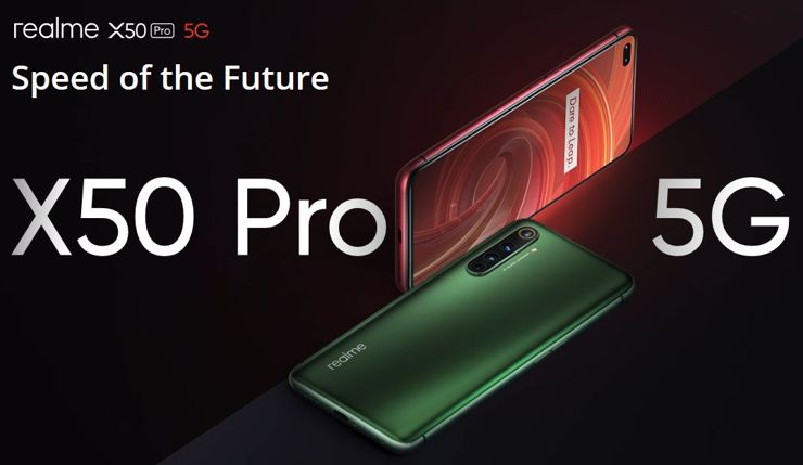 Realme X50 Pro 5G officially presented