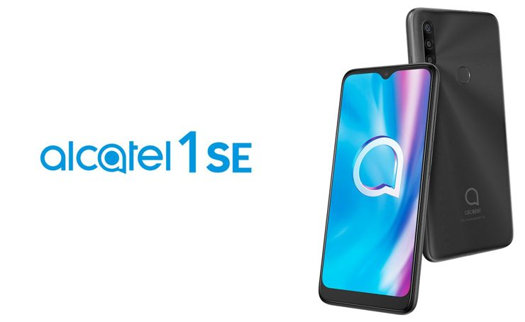 Alcatel 1SE (2020) - a triple camera in the budget phone
