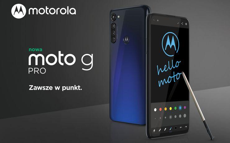 Motorola Moto G Pro – medium-range phone with a stylus