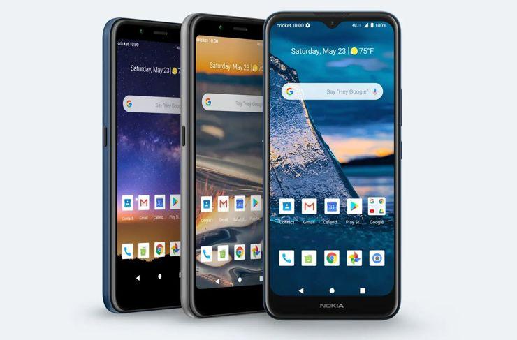 Nokia C2 Tava, Nokia C2 Tennen and Nokia C5 Endi – budget phones from the USA