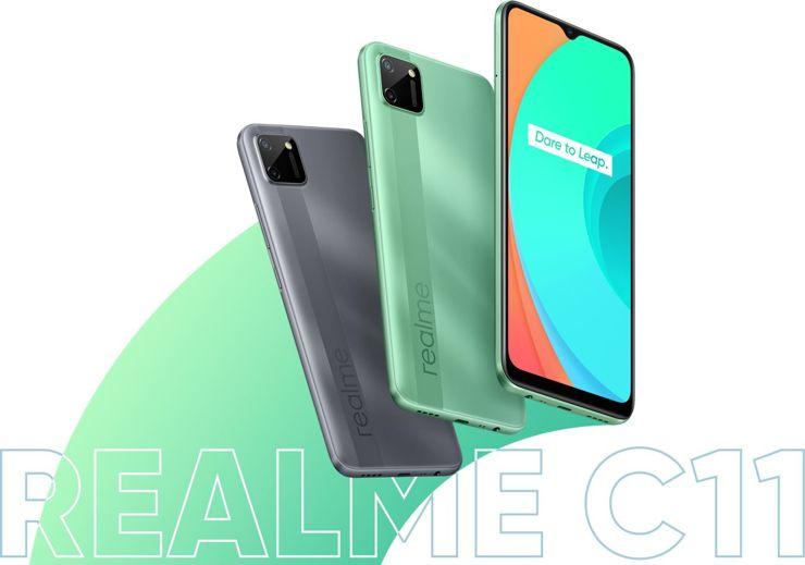 Realme C11 officially presented