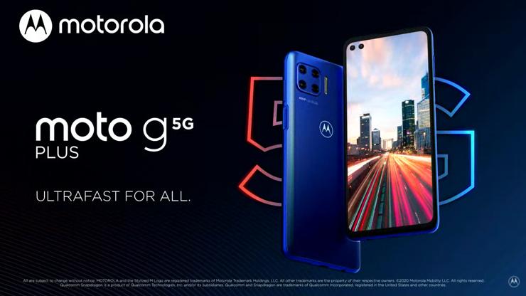 The premiere Motorola in the middle shelf - Moto G 5G Plus