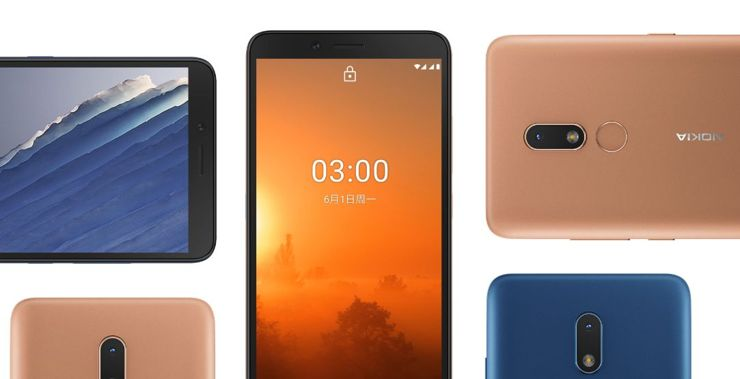Nokia C3 - a budgetary phone for China