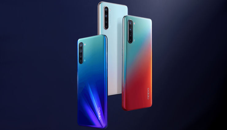 Oppo K7 in the official announcement
