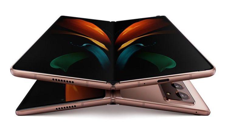 Samsung Galaxy Z Fold2 5G - the brightest star of the August Galaxy