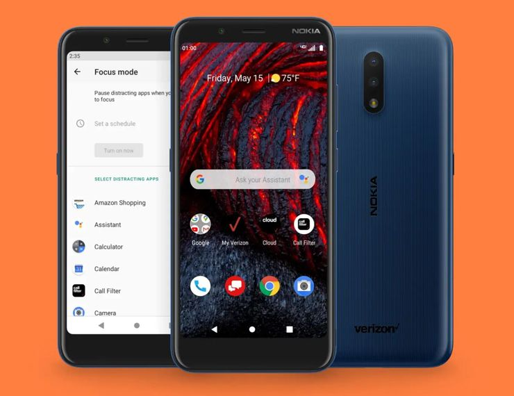 Nokia 2 V Tella for Verizon