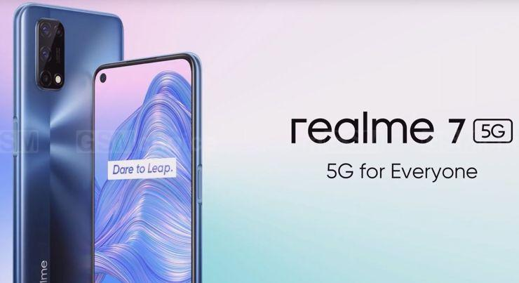 Realme 7 5G - the newest networks for everyone?