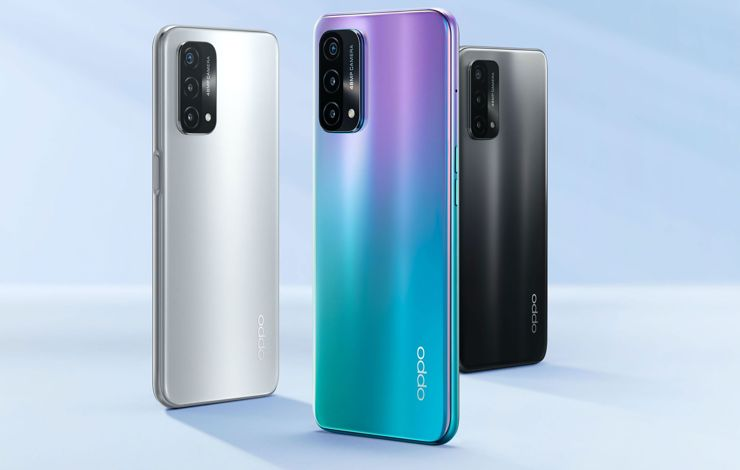 Oppo A93 5G officially, with Snapdragon 480
