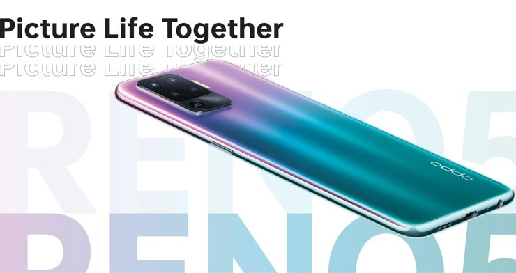 Oppo Reno5F - when we have not enough models with a similar name
