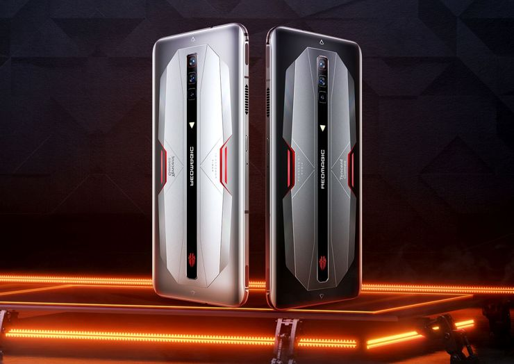Nubia Red Magic 6 and Red Magic 6 Pro with fast screens