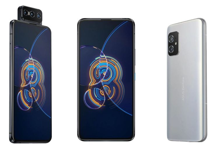 What does Asus Zenfone 8 look like?