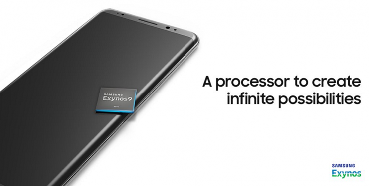 Samsung promoting Exynos 8895 showed the model Galaxy Note 8?