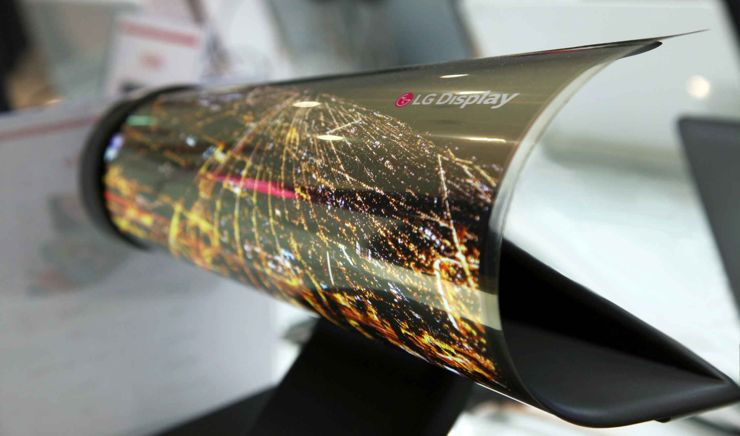 LG Display has a long tradition in producing flexible displays